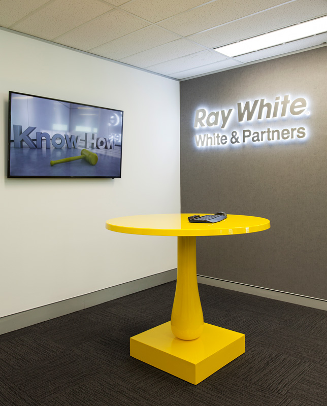 Ray White Commercial Foyer Sydney Interior Projects